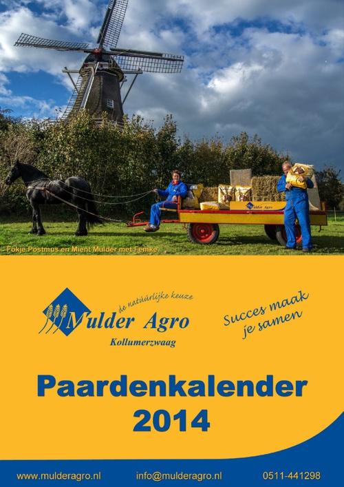 Mulder Agro Paardenkalender 2014