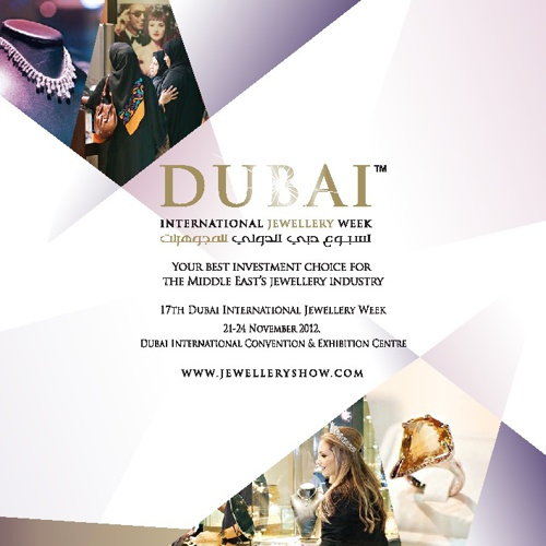 Dubai International Jewellery Week 2012 - Sales Brochure