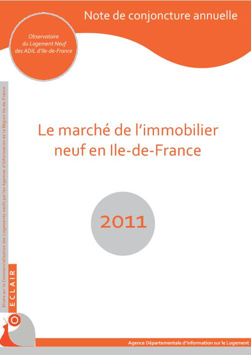 le marché de l'immobilier francilien 2011