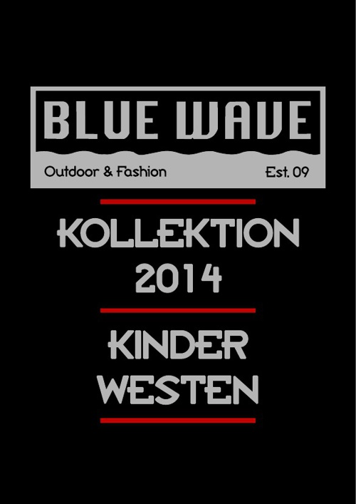 KINDER WESTEN BLUE WAVE KATALOG 2014