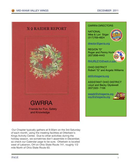 GW Ohio X2 2011 Dec