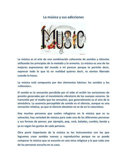 La música y sus adicciones resumen sesion 14 nuevo