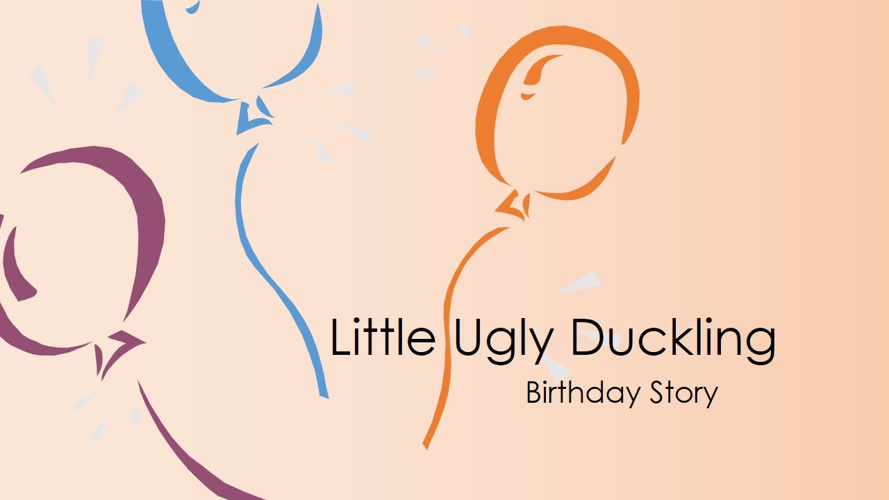 Little Ugly Duckling...