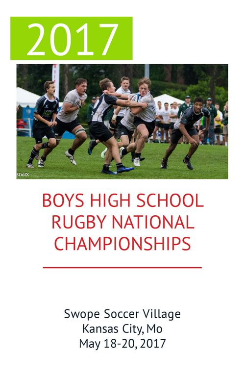 2017 Boys HS Rugby National Championships Program