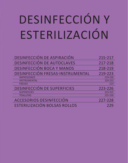 DESINFECCION Y ESTERILIZACION - CAT. GRAL. 2015 CASA SCHMIDT