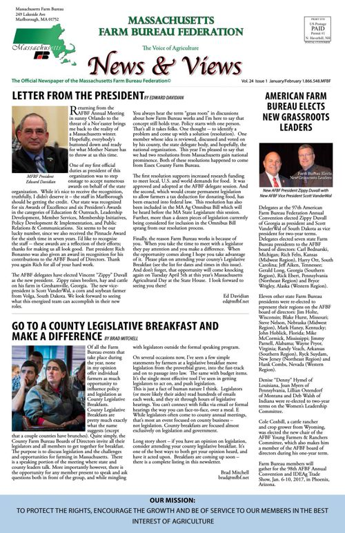 January/February 2016 News & Views
