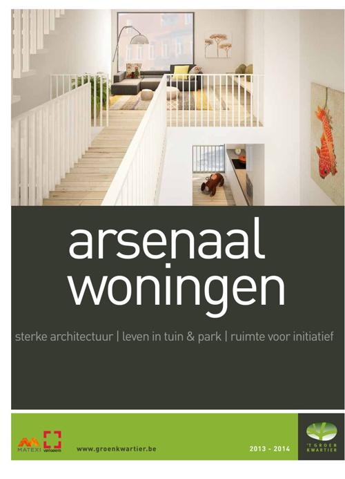 't Groen Kwartier - Arsenaalwoningen