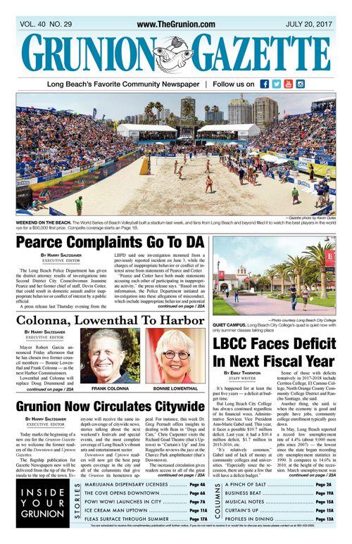 Grunion Gazette 7-20-2017