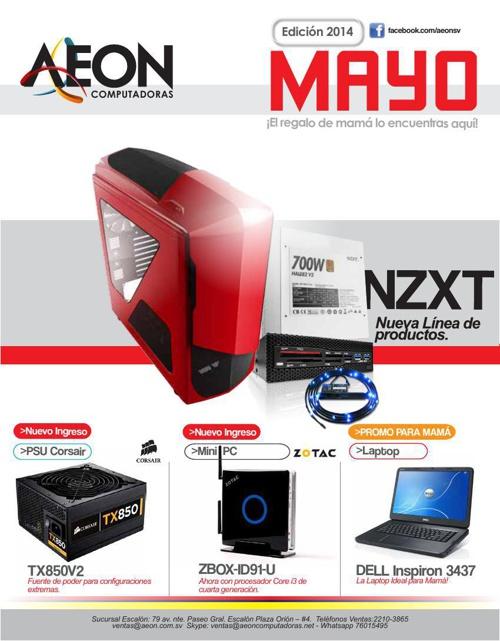 AEON Computadoras - Catálogo de MAYO 2014