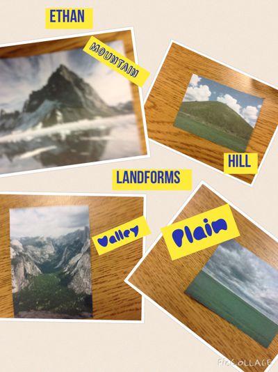 Delehanty: Landforms
