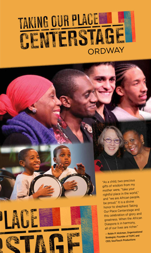 Taking Our Place Centerstage brochure