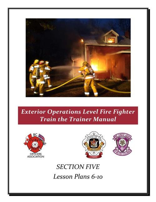 Section 5-Lesson Plans 6-10