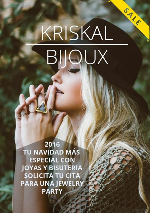 NEW COLLECTION CHRISTMAS 2016 KRISKAL BIJOUX
