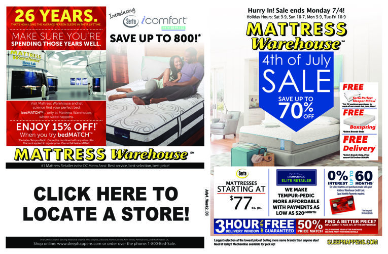FlipSnack New Year s Sale 2017 by Mattress Warehouse