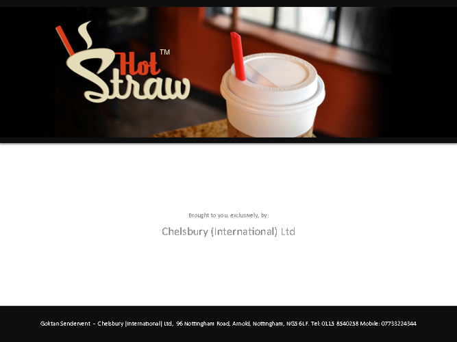 Copy of Hot Straw