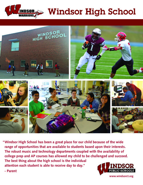 Windsor High School Brochure