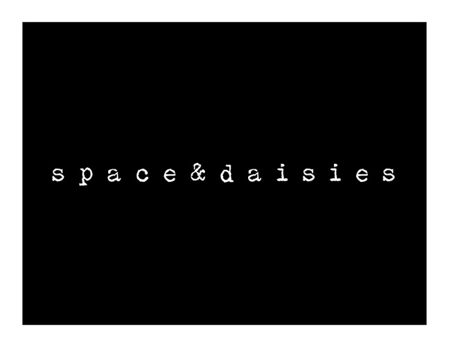 space & daisies - line sheet 2013