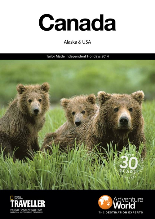 Canada, Alaska & USA 2014 Adventure World Brochure