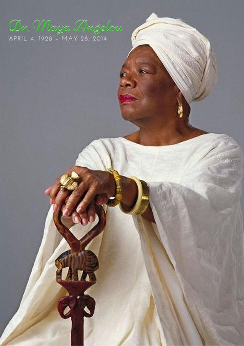 Dr. Maya Angelou 12 Page