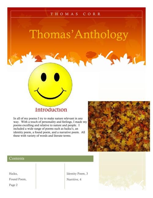 Thomas' Anthology