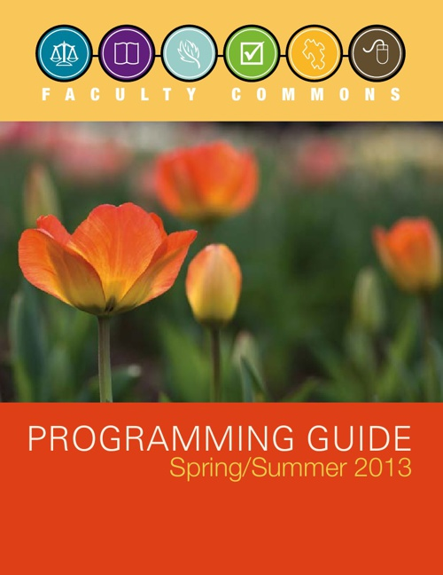 Programming Guide Spring/Summer 2013