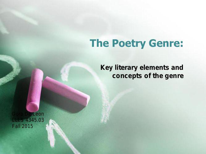 Poetry Dora DeLeon.pptx