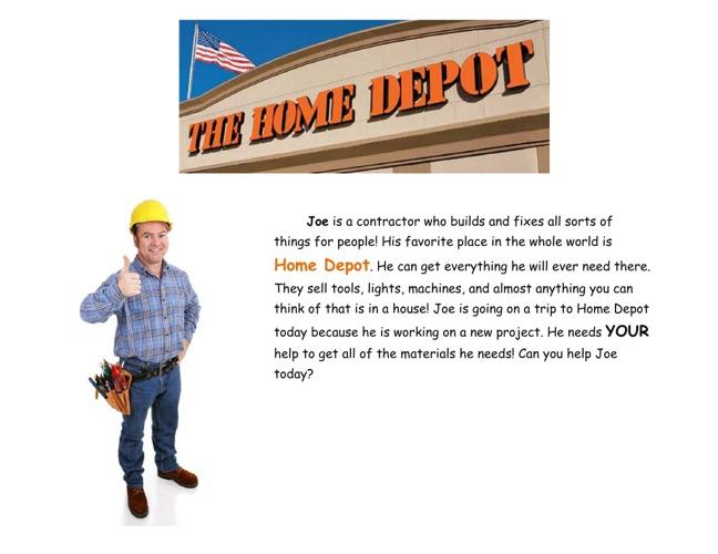 Joe Goes to Home Depot