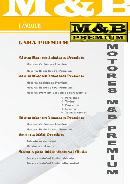 CATALOGO M&B PREMIUM