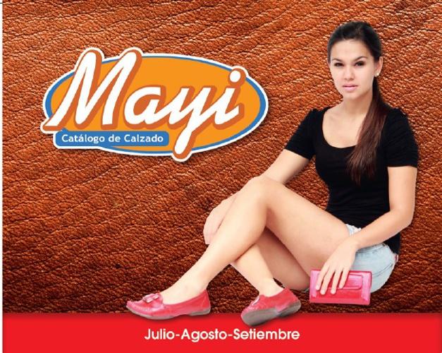 Catálogo de Calzado Mayi, Julio-Agosto-Setiembre 2013