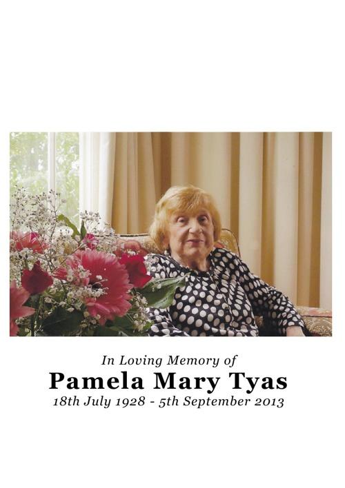 Pamela Tyas