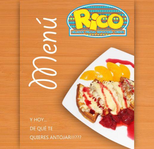 Menú RICO