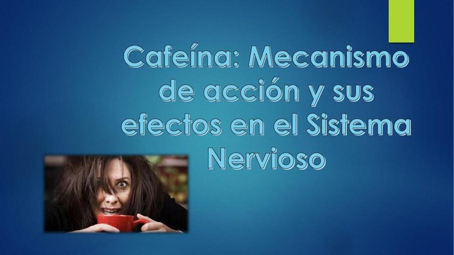 El efecto de la cafeína en el aprendizaje 2
