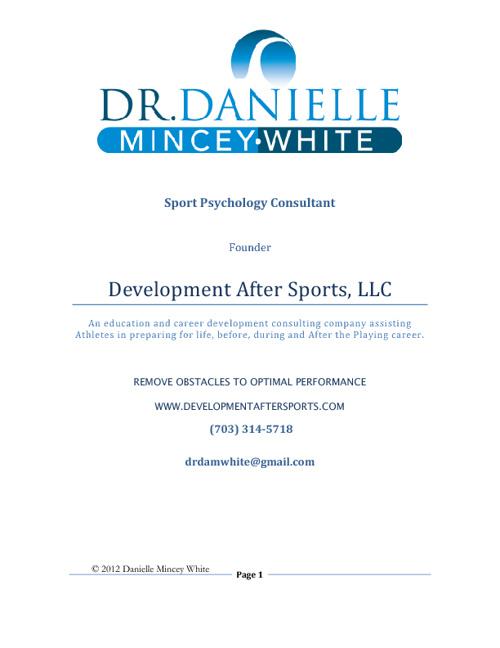 Development After Sports Academy
