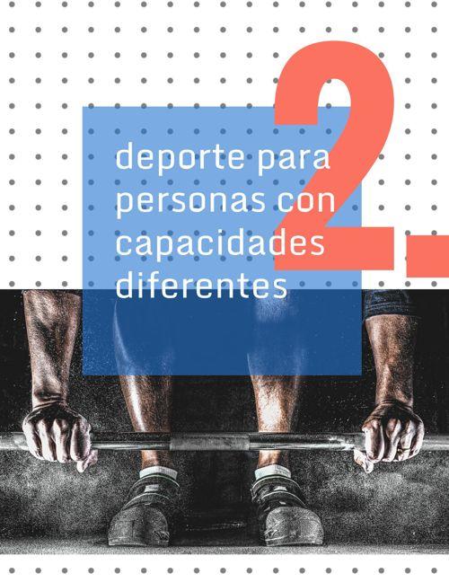 deporte para personas con capacidades diferentes