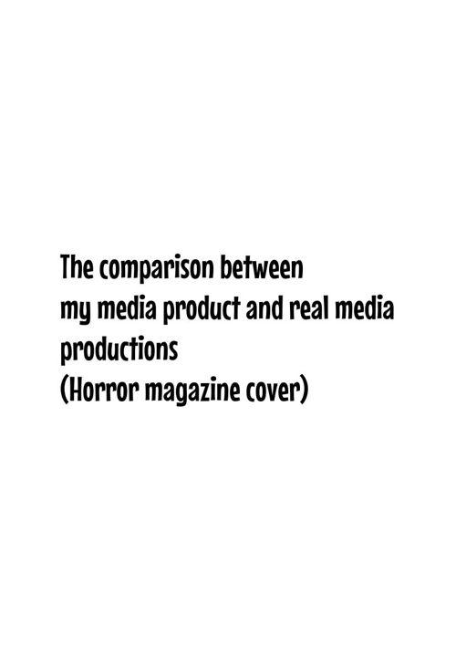 Magazine comparisson