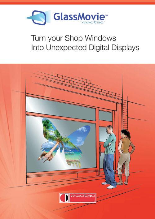 302 Mactac - Glassmovie - Turn your Shop Windows - into unexpect