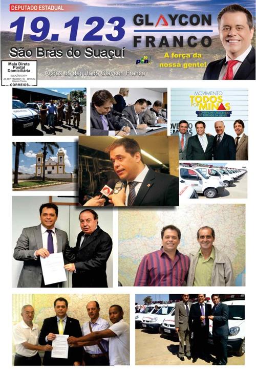 Jornal São Brás do Suaçuí - Glaycon Franco
