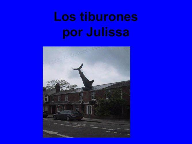 Julissa Los tiburones
