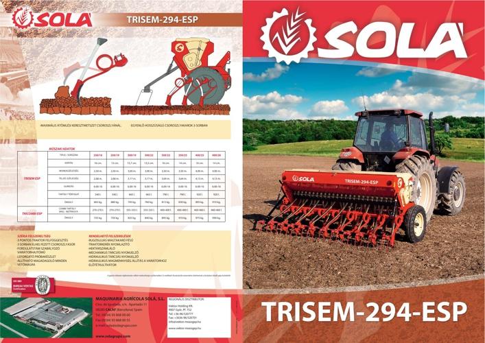 PR-22 sola TRISEM 294 mechanikus direktvetőgép prosi_012-HU