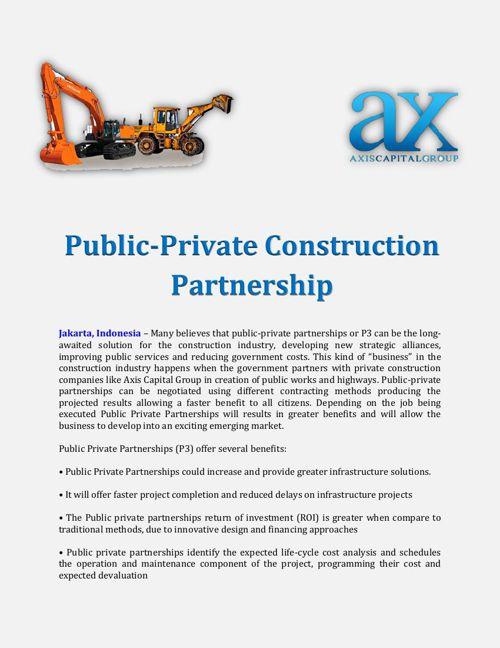 Public-Private Construction Partnership
