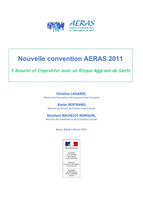 Nouvelle convention AERAS 2011