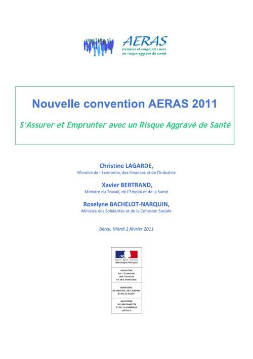 Nouvelle convention AERAS 2011