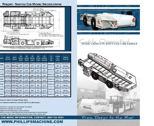 Phillips Cable Car Brochure