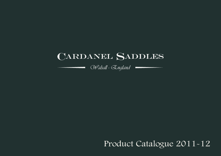 Cardanel Saddles Catalogue 2012