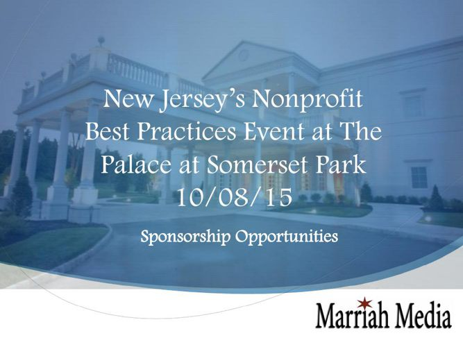 Marriah Non-Profit Best Practices Event