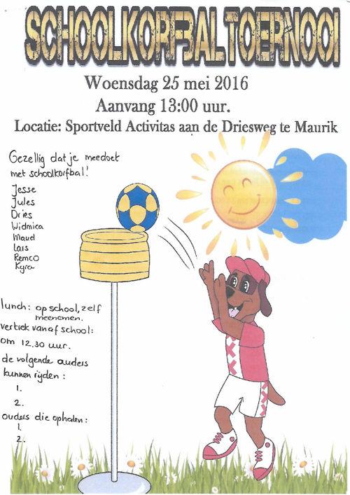 Schoolkorfbal Activitas Maurik