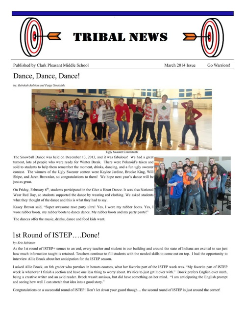 Tribal News March 14