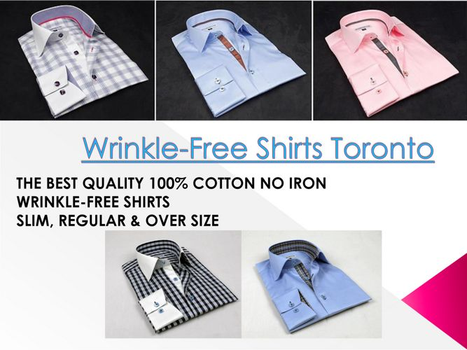 Wrinkle-Free Shirts Toronto