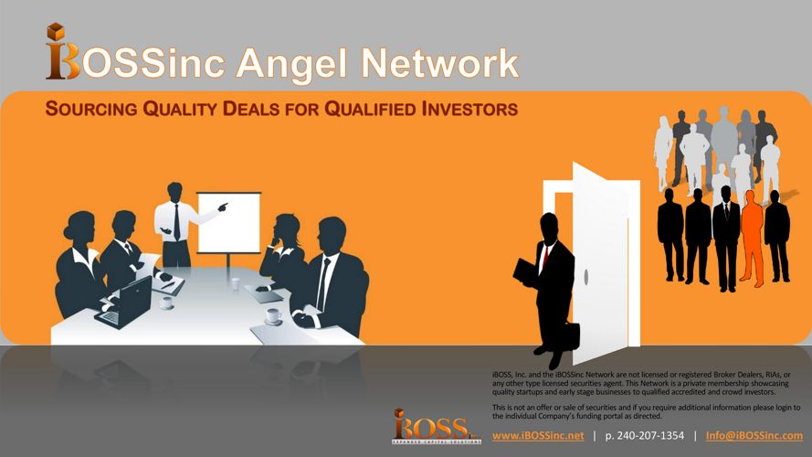 iBOSSinc Angel Network_PitchMe