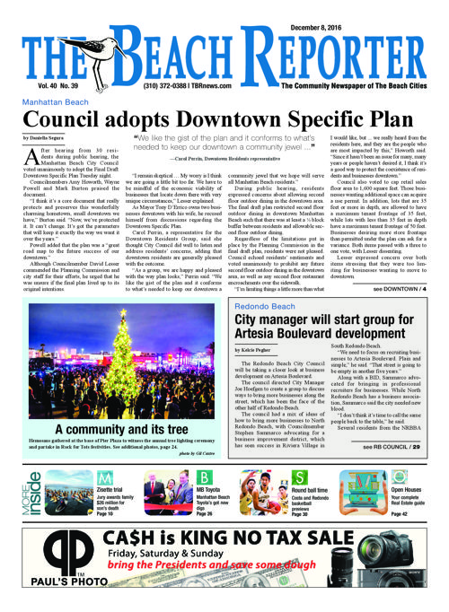 The Beach Reporter | December 8, 2016